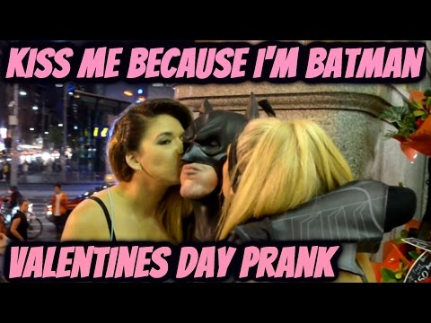 Kiss Me I'm Batman (HAPPY VALENTINES DAY)