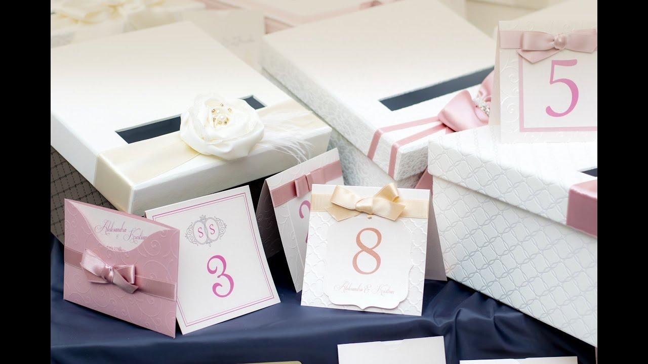Luxury Wedding Invitations Testimonial - YouTube