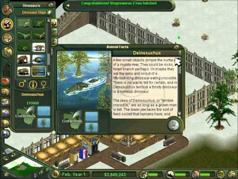 Zoo Tycoon Dino Digs Valley of the Dinosaurs Part 1