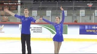 София Голиченко / Иван Павлов 🇺🇦 - Junior Pairs SP - Volvo Open Cup,  Riga, Latvia -Nov 06, 2018
