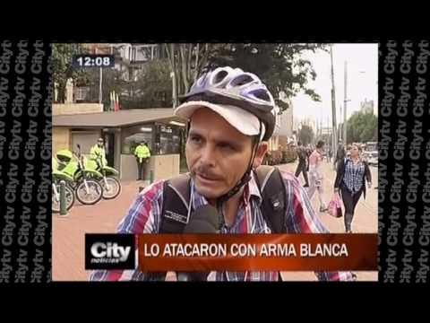 Cuatro veces ha sido atracado un ciclista en Bogotá |City Tv |