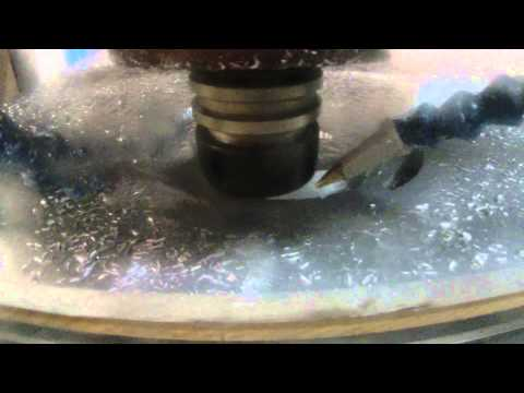 """Cutting 3/4"""" Aluminum With CnC Router """"the Right Way"""".... CRAZY FAST !!!!!"""