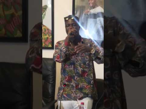 Obibini Freestyles at Zylofon Music Unveiling Event