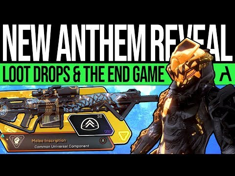 Anthem Update | NEW TRAILER & LOOT PREVIEWS! End Game, Customisation, Contract Rewards & More!
