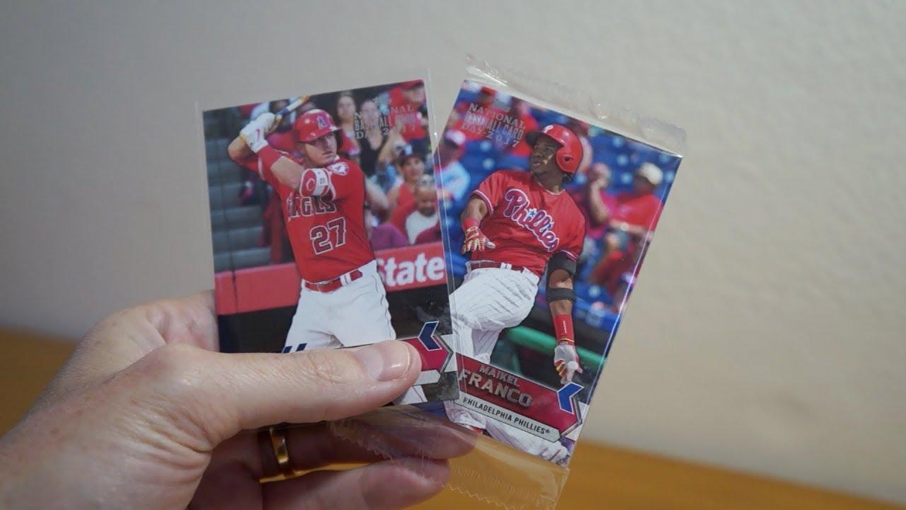 2017 Topps National Baseball Card Day 1 Pack Break