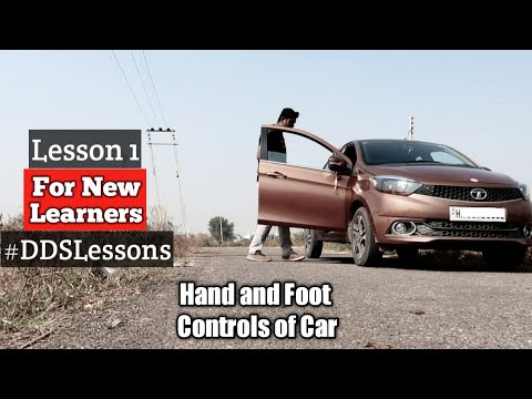 The first day of Driving | Lesson 1
