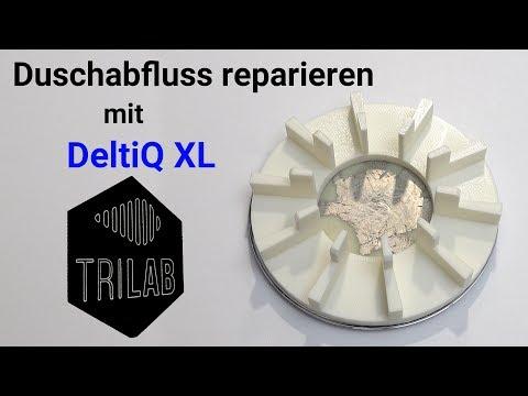 Duschabfluss Mit 3D Drucker Reparieren - DeltiQ XL Von TRILAB