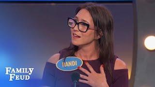 Steve has an EXTRA Q for Randi   Family Feud