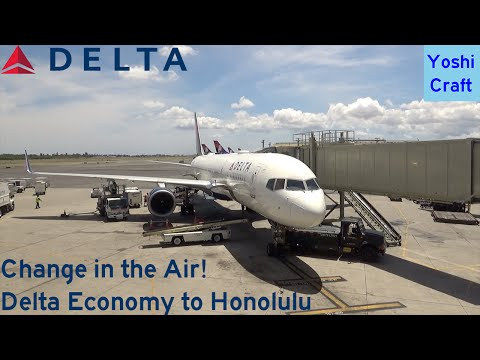 Change in the Air!  Delta Economy to Honolulu (LAS-LAX-HNL) (Trip Report)