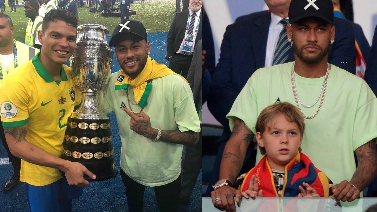 Neymar Jr. at Brazil vs Peru | Copa America Final 2019 || Champions