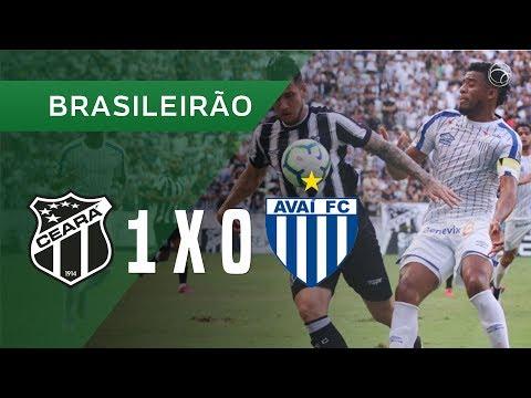 CEARÁ 1 X 0 AVAÍ - GOL - 13/10 - BRASILEIRÃO 2019