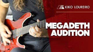 My Audition for Megadeth  - Hangar 18 ( legendado)