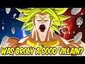 Dragon Ball Insight: Why Broly, The Legendary Super Saiyan Is A Bad Villain