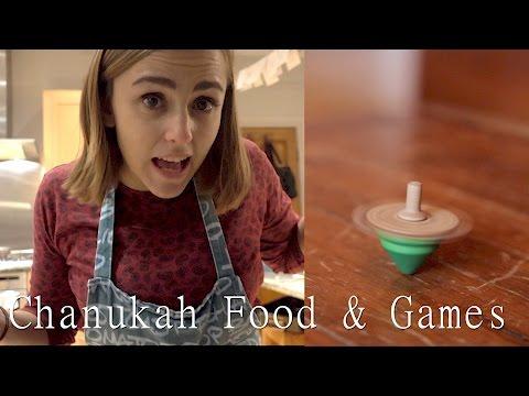 How to Play Dreidel & Making Latkes! | Hannah Witton