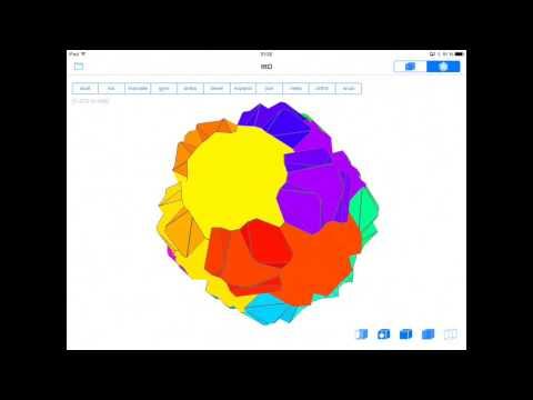 Polyhedron using Conway transformation (dd)tttD