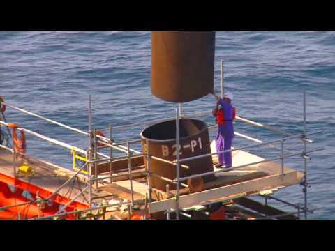 Offshore Platform Installation- Jacket Installation and Tops