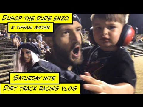 duhop Saturday night Dirt track racing New Egypt Speedway New Jersey vlog