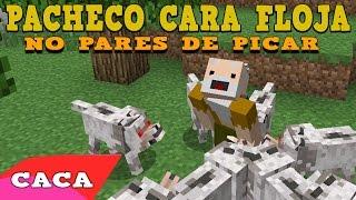 PACHECO CARA FLOJA -  No pares de picar | Canción Minecraft Video
