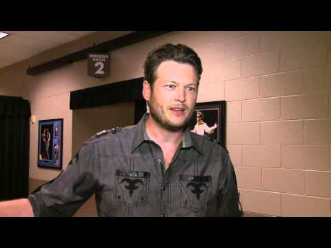 Academy of Country Music Awards - Blake Shelton Interview