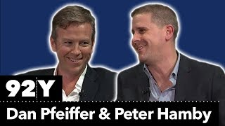 Yes We Still Can: Pod Save America's Dan Pfeiffer in Conversation with Snapchat's Peter Hamby
