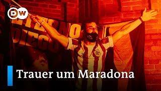So trauert die Welt um Maradona | DW Nachrichten