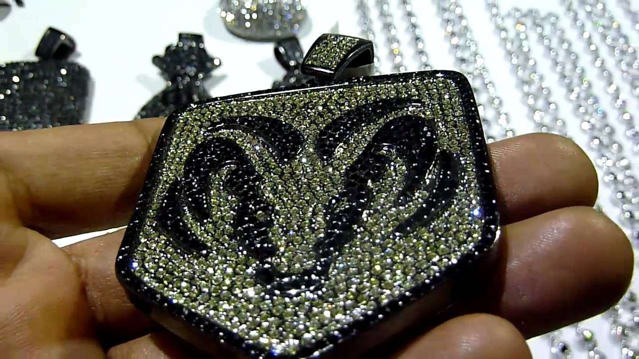 Sold Lab Made Jewelry 100 Quot Dodge Quot Style Pendant Black