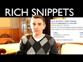 Optimizing for Rich Snippets | Tom Talks