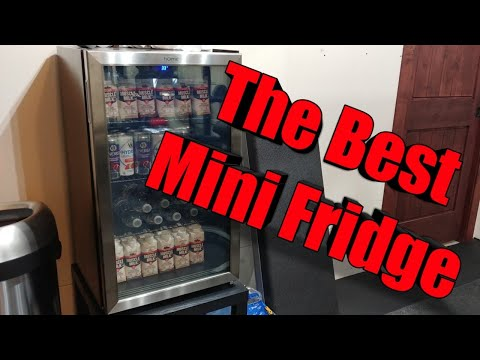 Best Mini Fridge for Home gym - Garage Gym HomeLabs Beverage cooler
