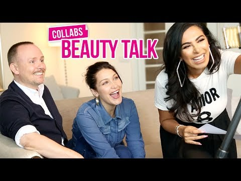 Collabs | Beauty Talk With Bella Hadid & Peter Philips!