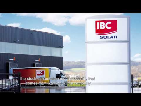 IBC SOLAR - a strong partner for local PV installers