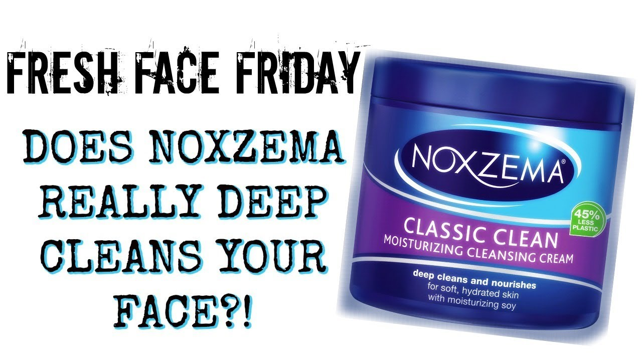 How To Use Noxzema >> Fresh Face Friday Noxzema Classic Clean Moisturizing Cleansing