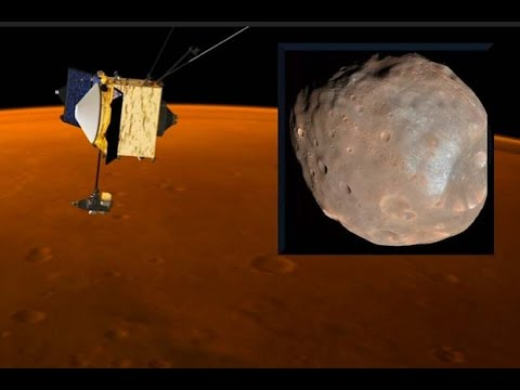 Dodging Phobos - MAVEN's Thrusters Fired To Avoid Mars Moo
