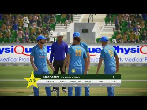 Final ICC CT 2017 !! India vs Pakistan!! Don Bradman Cricket 17 !! ICC Champions Trophy17