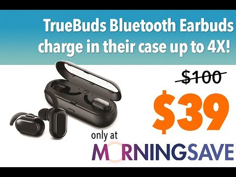 e1858f879f6 Today's Deal: TrueBuds Wireless Stereo Earbuds with Charging Pod ...