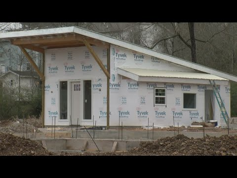 Three Tiny Homes In Hollister Almost Complete