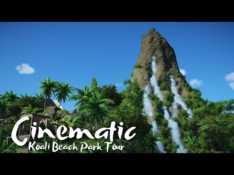 Planet Coaster - Koali Beach - Cinematic Park Tour