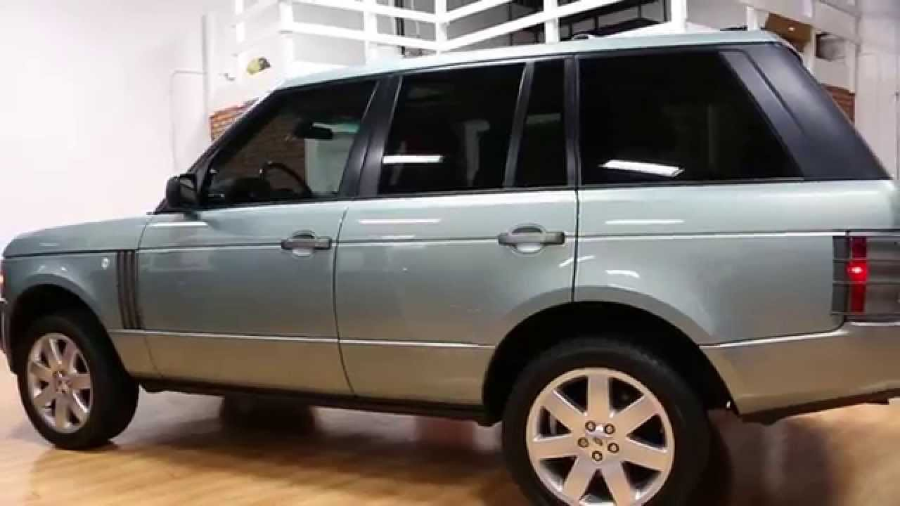 2008 Land Rover Range Rover Hse For Sale Rare Lucerne