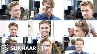 9 different hairstyles in 1 haircut - Men