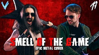 Guilty Gear - Smell of the Game EPIC METAL COVER Little V feat RichaadEB