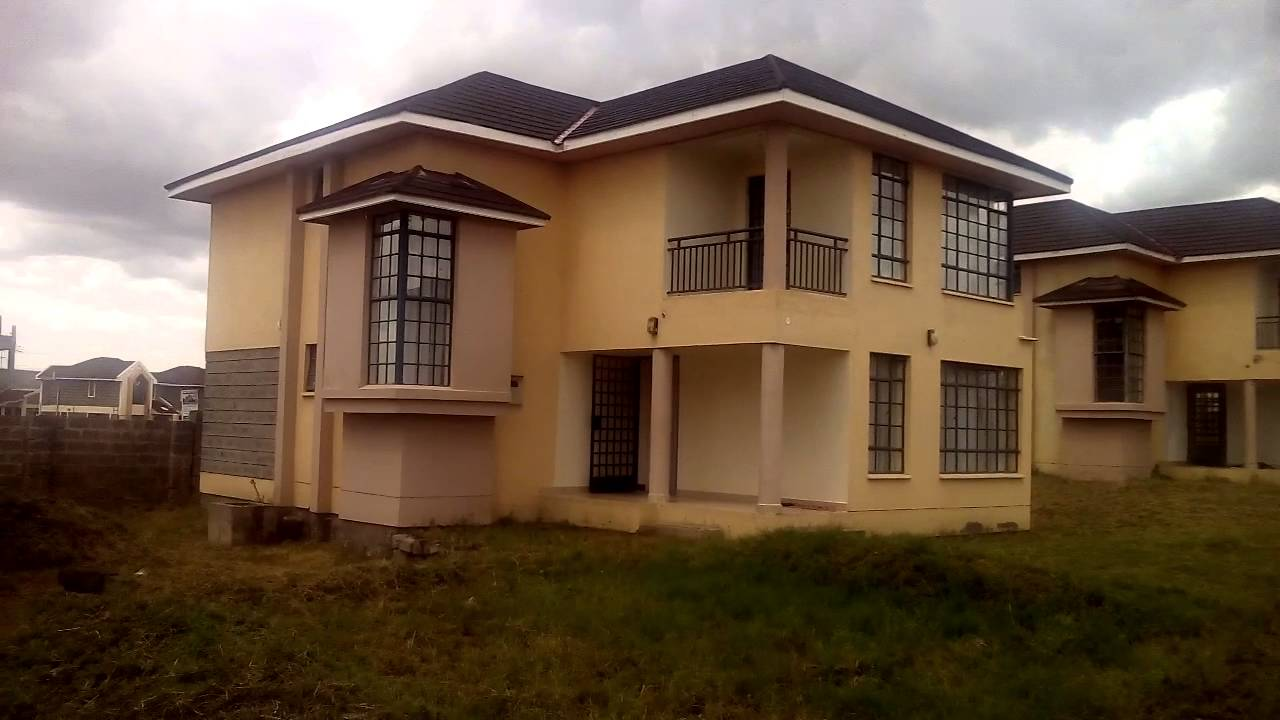 4 bedroom houses for sale in kitengela kenya youtube for New build 4 bed house