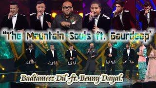 Gambar cover Badtameez Dil - The Mountain Souls ft. Gaurdeep ft. Benny Dayal.