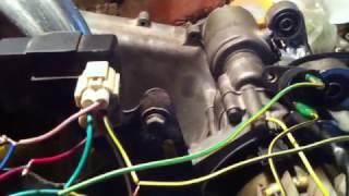 Как сделать искру на китайском моторе без проводки 152QMI 157QMJ/завести мотор без мопеда