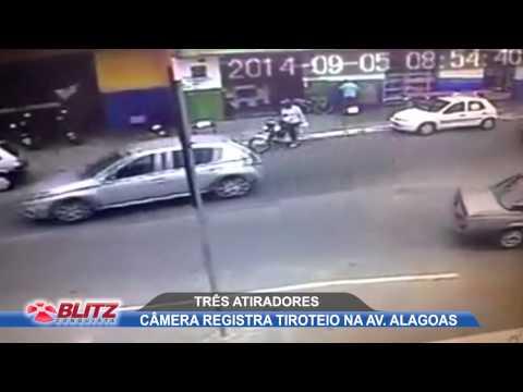 CAMERA REGISTRA TIROTEIO NA AV  ALAGOAS