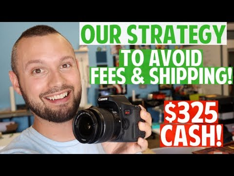 how-to-avoid-fees-&-shipping-costs-|-our-strategy-to-getting-quick-cash-locally!