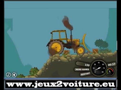 jeux de camion gratuit tractors power youtube. Black Bedroom Furniture Sets. Home Design Ideas