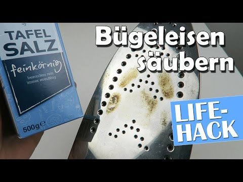 Bügeleisen säubern - 3 coole Lifehacks