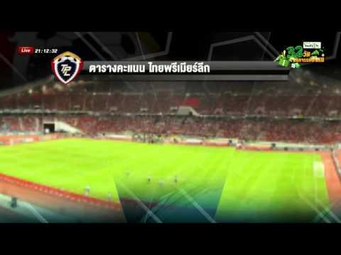 ผลฟุตบอลไทยพรีเมียร์ลีกนัดสุดท้าย | 14-12-58 | เช้าข่าวชัดโซเชียล | ThairathTV