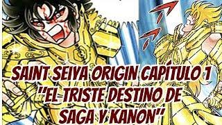 El triste Destino de Saga y Kanon - Saint Seiya Origin