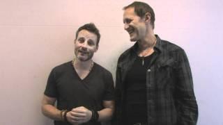Christopher Heyerdahl and Ryan Robbins in Australia 2011