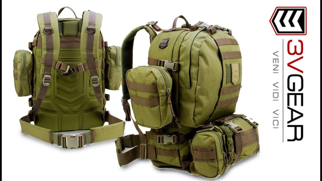 3V Gear Paratus 3-Day Operators Tactical Backpack